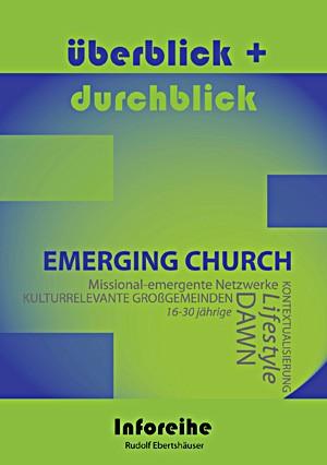 cover ebertshaeuser, ueberblick und durchblick: emerging church