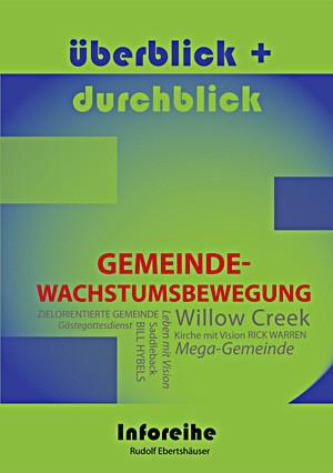 cover ebertshaeuser, ueberblick und durchblick: gemeindewachstumsbewegung